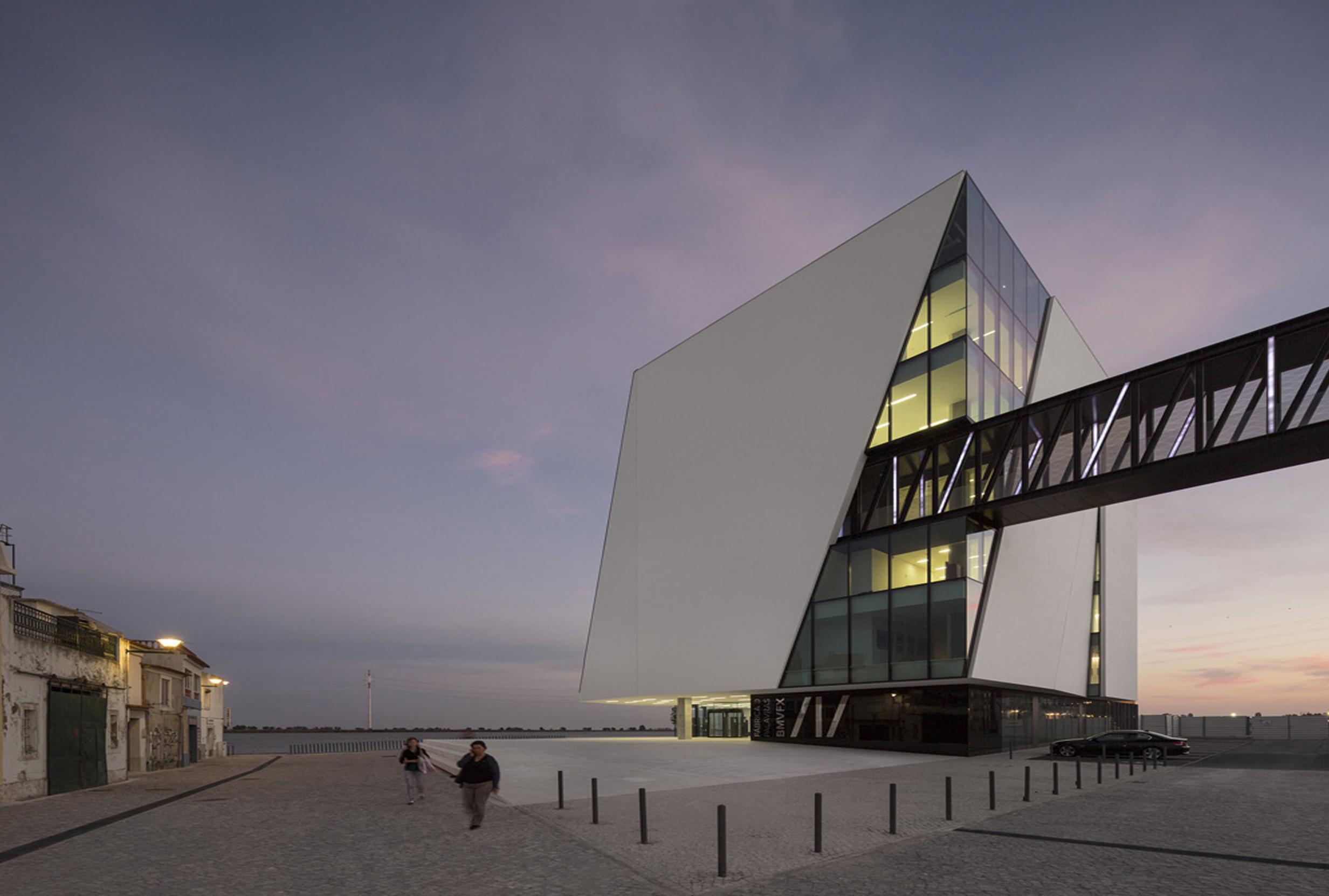 Edifício Fábrica das Palavras - Vila Franca de Xira