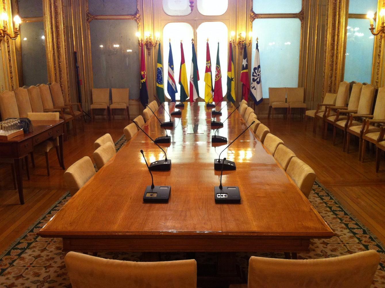 Salão Principal da sede da CPLP lx