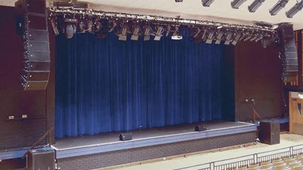 Som Profissional para Teatros e Salas de Concertos ao Vivo