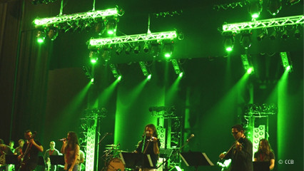 Iluminação Profissional para Teatros e Salas de Concertos ao Vivo