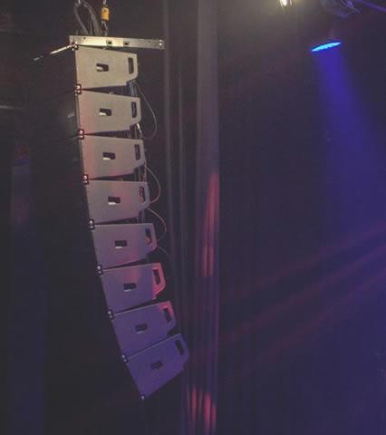 som profissional para discotecas e bares