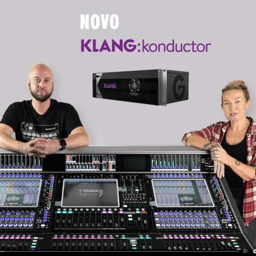 Becky Pell fala com a KLANG sobre o novo KLANG: konductor