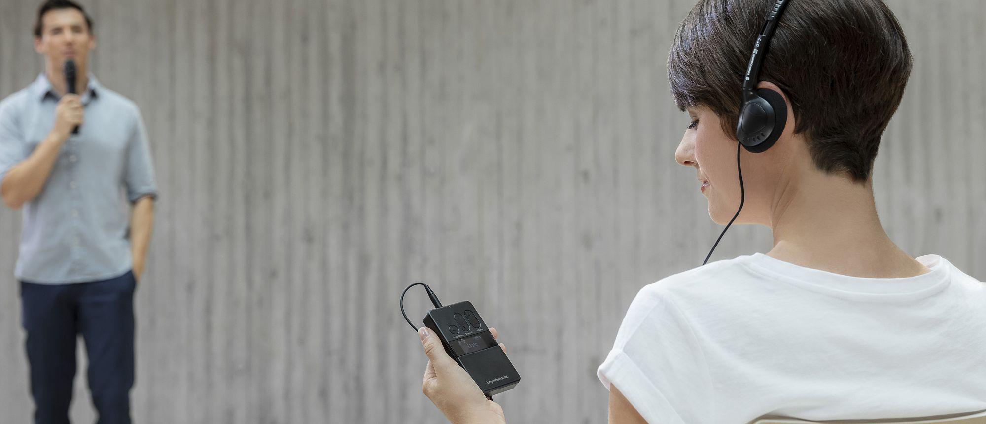 beyerdynamic unite tour guide audio guia interprete ate 32 idiomas