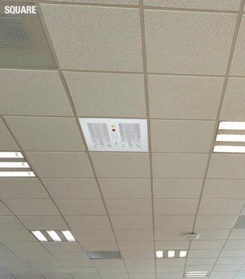 Luxibel direct square desinfeção UVC Garrett Audiovisuais
