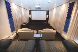 soluções residenciais home theater cinema