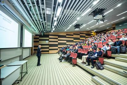 video e imagem para centros de congressos, auditórios e anfiteatros