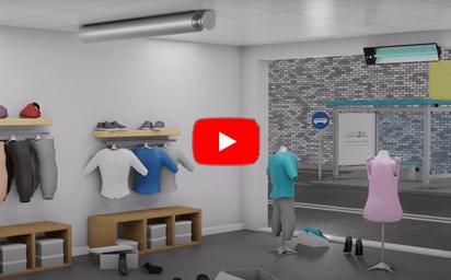 desinfeção e eliminação de virus para lojas clinicas e museus